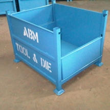 Stackable Steel Bins